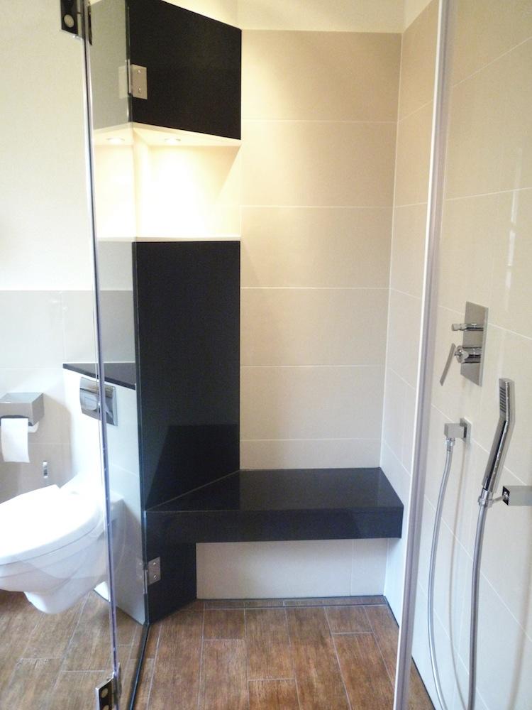 begehbare dusche mit fishzero sitz dusche mauern - Dusche Decke Abdichten