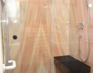 Marmor in der Duschanlage