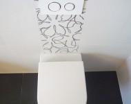 WC-Anlage mit Dekorfliesen - Walters Traumbäder