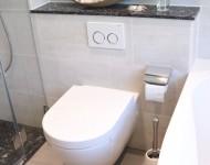 WC mit Ablagefläche