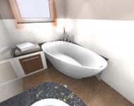 Wanne Badgestaltung
