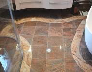 Fußbodengestaltung mit Granit
