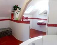 Badezimmer mit Rundungen