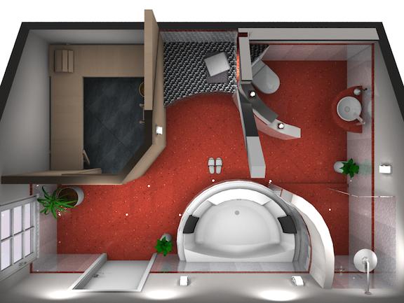 das bad zum wohlf hlen und relaxen walters traumb der. Black Bedroom Furniture Sets. Home Design Ideas