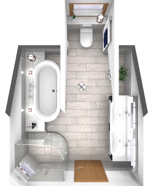 Bad unterm Dach - Walters Traumbäder